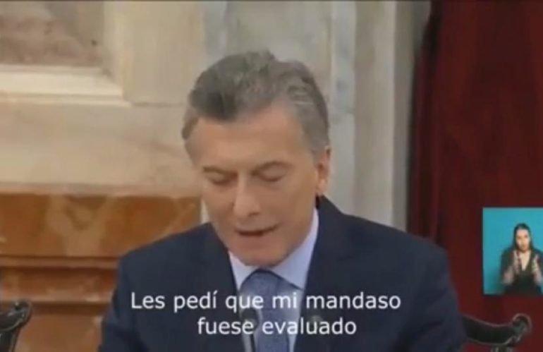 El discurso de Macri en ritmo de cuartetazo
